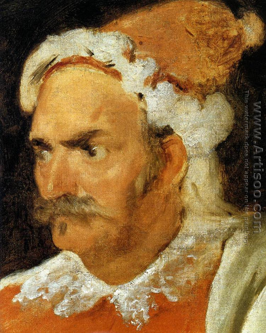 The Buffoon Don Cristobal de Castaneda y Pernia (detail) 1637-40