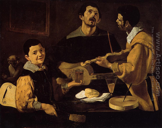 Three Musicians (or Musical Trio)