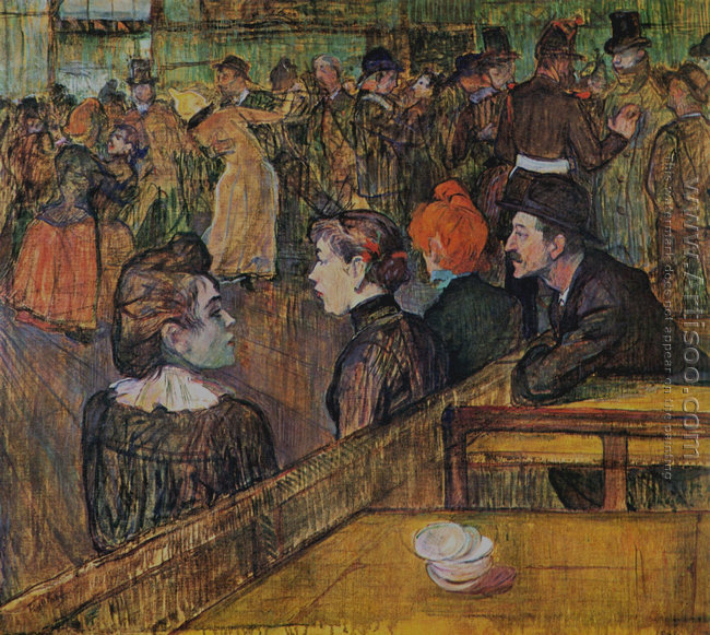 At the Moulin de la Galette 1889