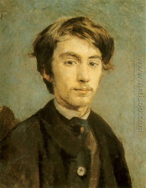 Portrait of the Artist Emile Bernard 1886