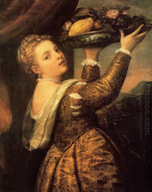 Girl with a Basket of Fruits (Lavinia) 1555-58
