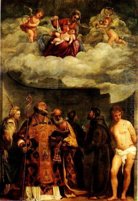 Madonna Of Frari
