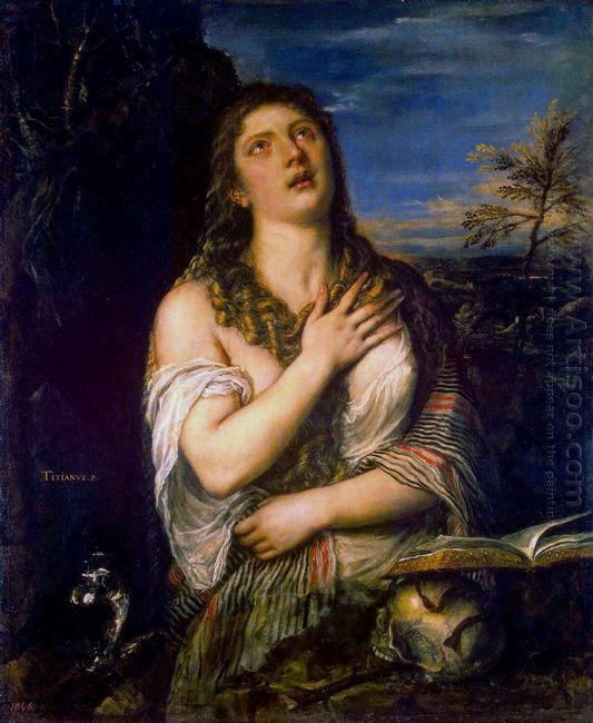 Penitent St Mary Magdalene