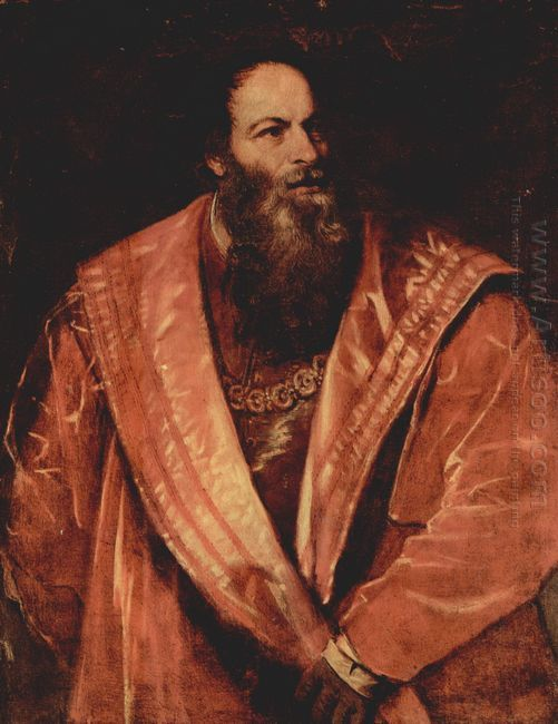Portrait of Pietro Aretino 1545