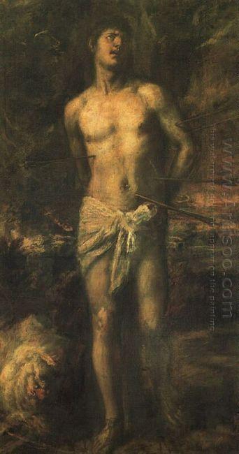 Saint Sebastian 1570