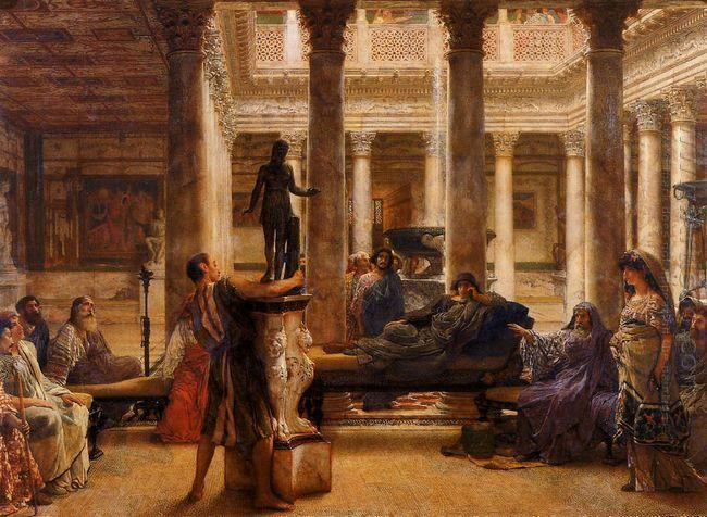 A Roman Art Lover