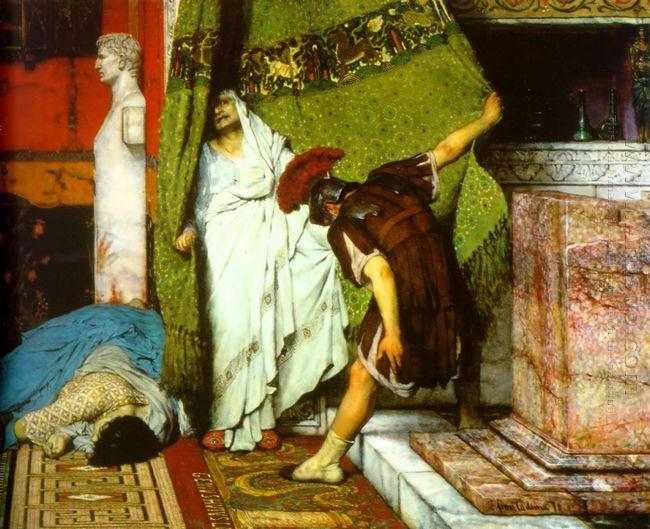 A Roman Emperor AD41 Detail I