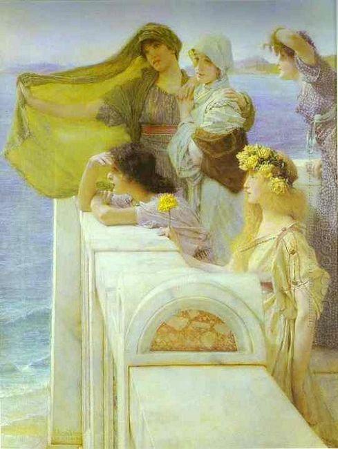At Aphrodite's Cradle