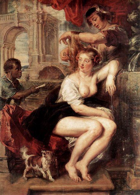 Bathsheba at the Fountain c. 1635
