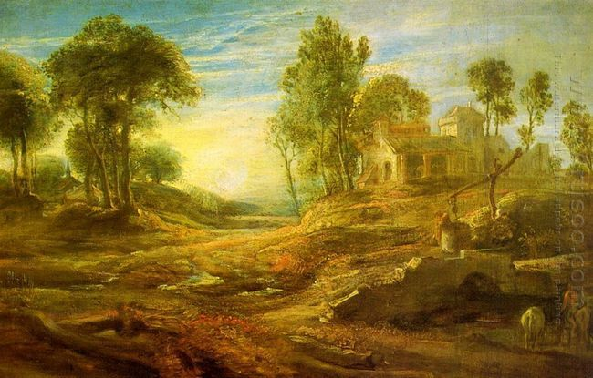 Landscape with a Watering Place