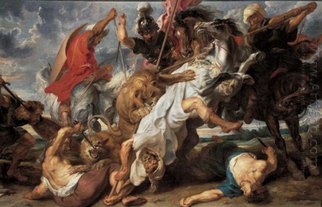 Lion Hunt c. 1621