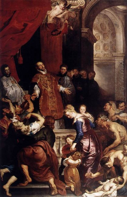 Miracles of St Ignatius 1615-20