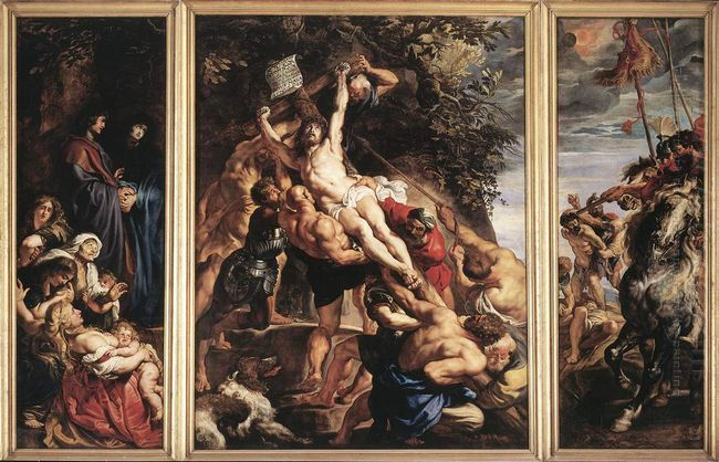 Raising of the Cross 1610