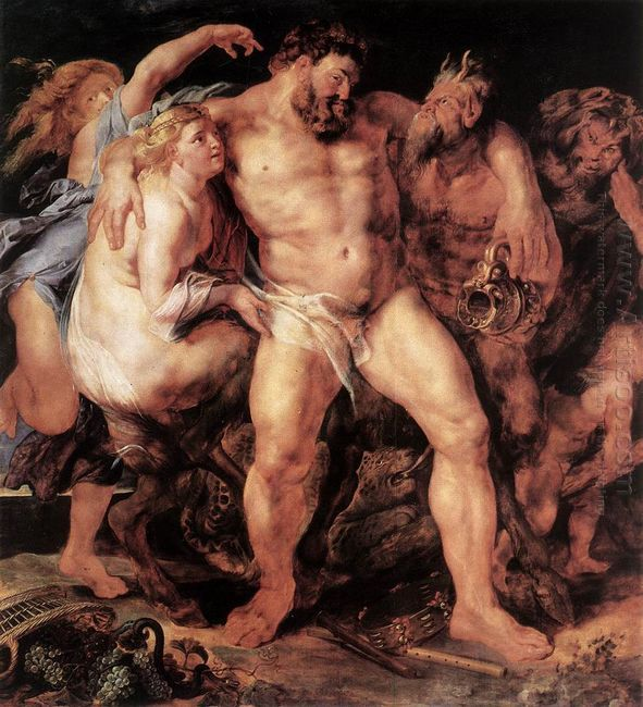 The Drunken Hercules c. 1611