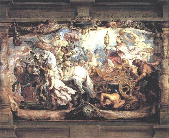 Triumph of Church over Fury, Discord, and Hate 1628