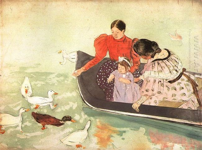 Feeding the Ducks, 1895