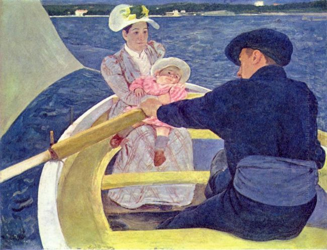 The Boating Party, 1893-94