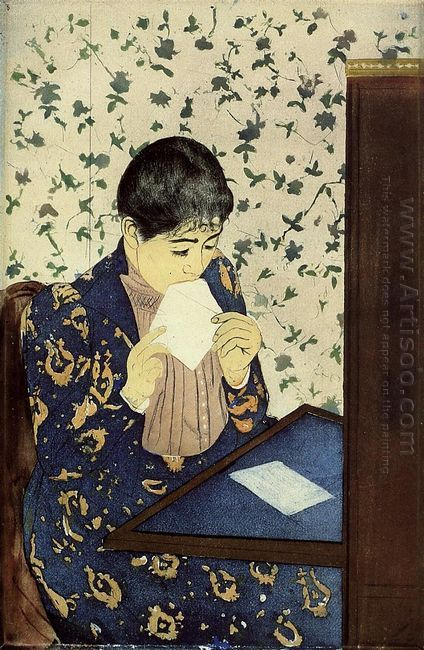 The Letter, 1890-91