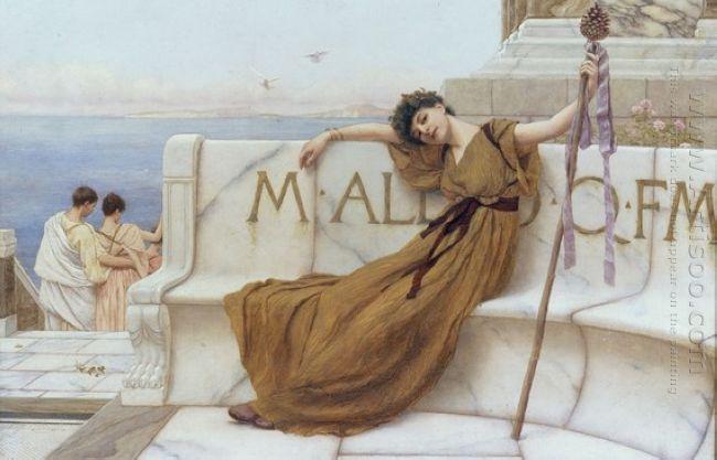 A Priestess of Bacchus