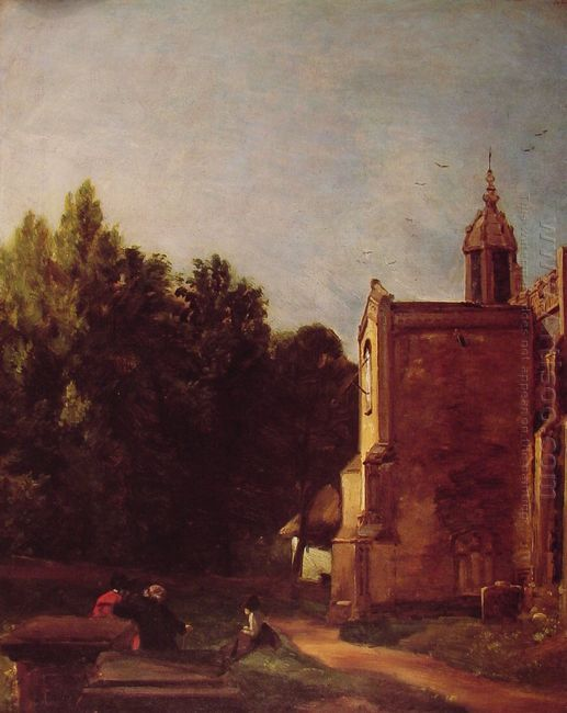 a church porch 1810
