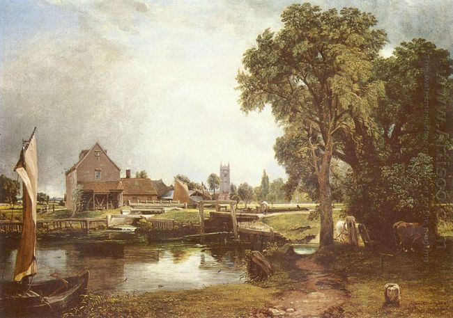 dedham lock and mill 1820