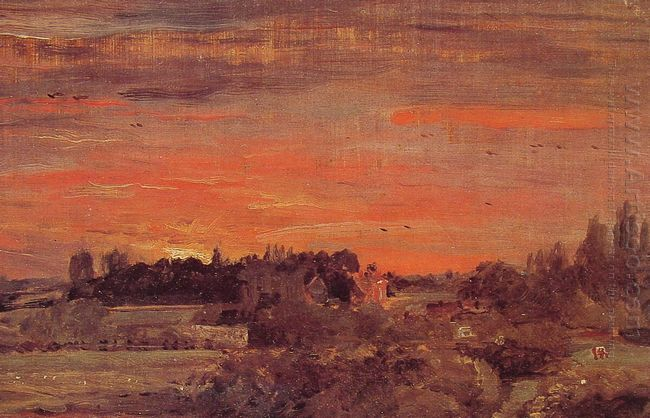 flatford mill 1817