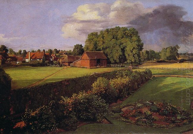 golding constable s flower garden 1815