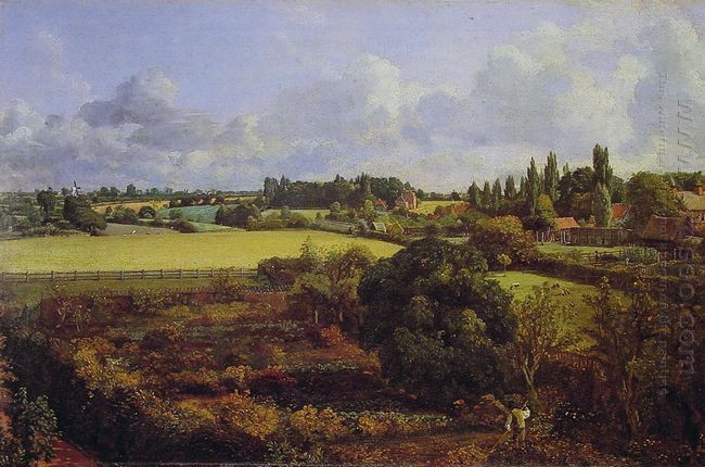 golding constable s kitchen garden 1815