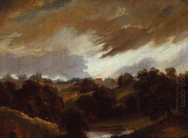 hampstead stormy sky 1814 1