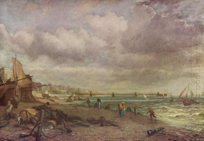 marine parade and old chain pier 1827