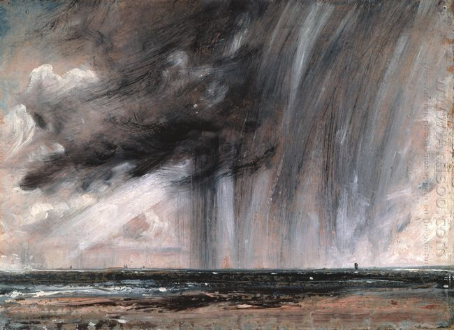 rainstorm over the sea 1828