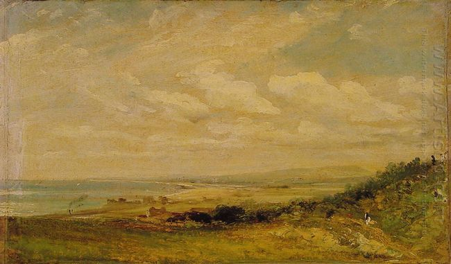 shoreham bay near brighton 1824