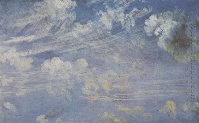 spring clouds study 1822