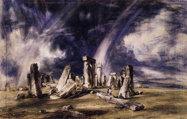 stonehenge 1835