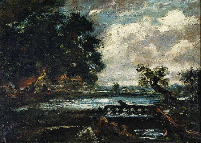 study for the leaping horse view on the stour