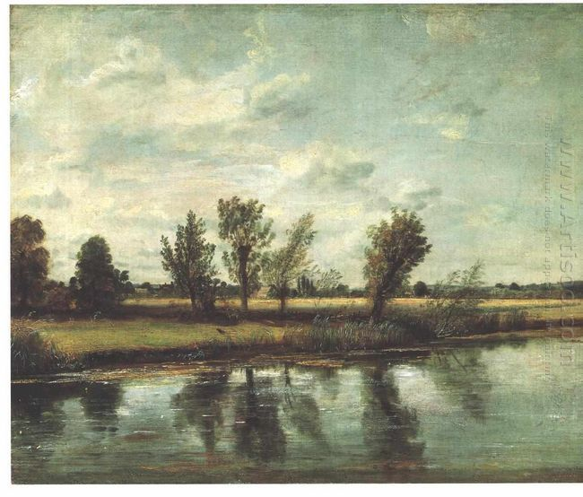 water meadows near salisbury 1820