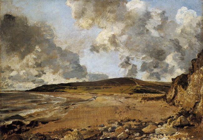 weymouth bay with jordan hill 1816