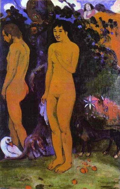 adam and eve 1902