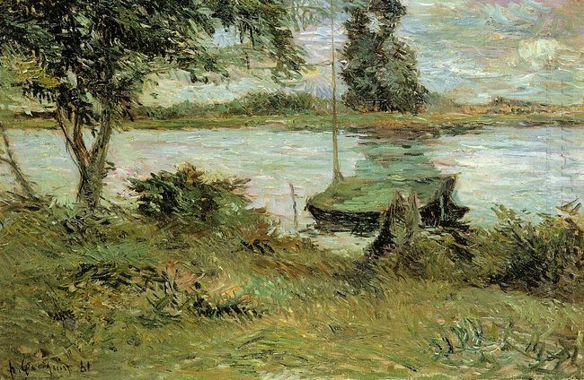 banks of the oise 1881