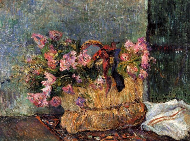 basket of flowers 1884