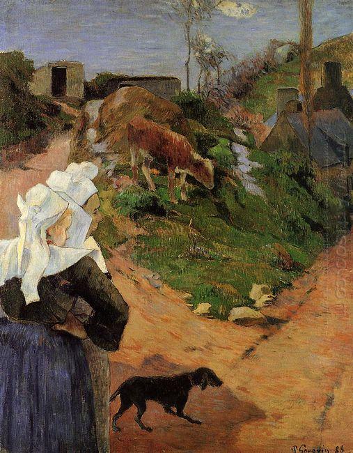 breton women at the turn 1888