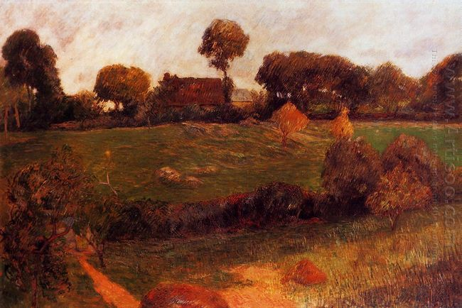 farm in brittany 1886