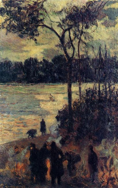 fire by the water 1886