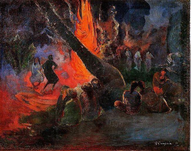 fire dance 1891