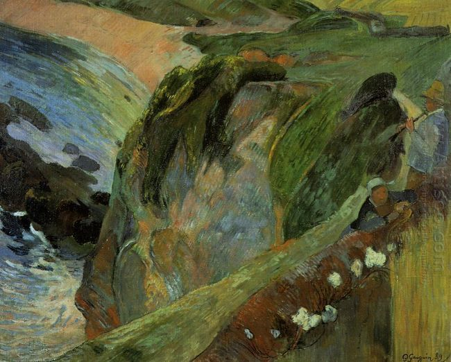 flutist on the cliffs 1889