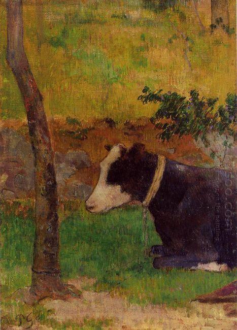 kneeling cow 1888
