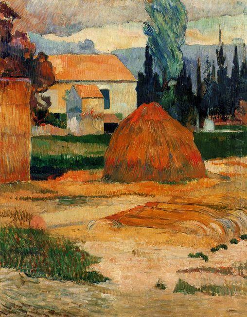 landscape near arles 1888