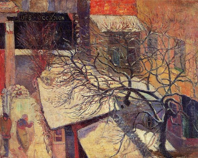 paris in the snow 1894