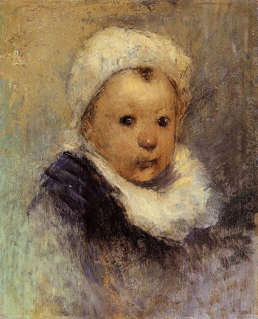 portrait of a child aline gauguin
