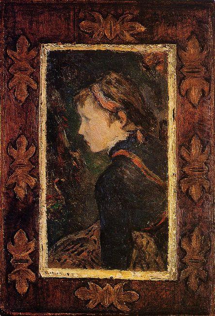portrait of aline 1884